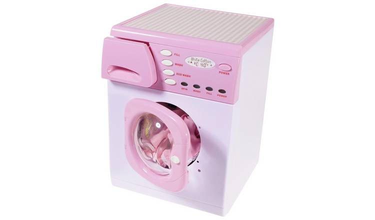 Casdon Toy Electronic Washing Machine - Pink