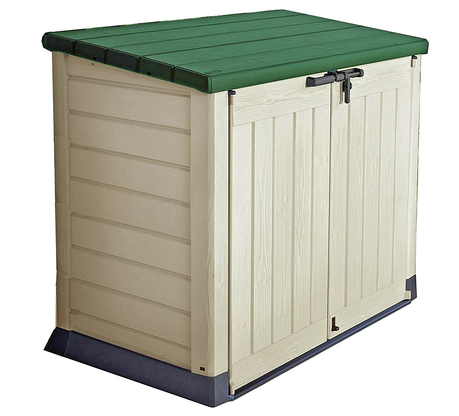 Keter Store It Out Max Storage Box 1200L - Beige/Green