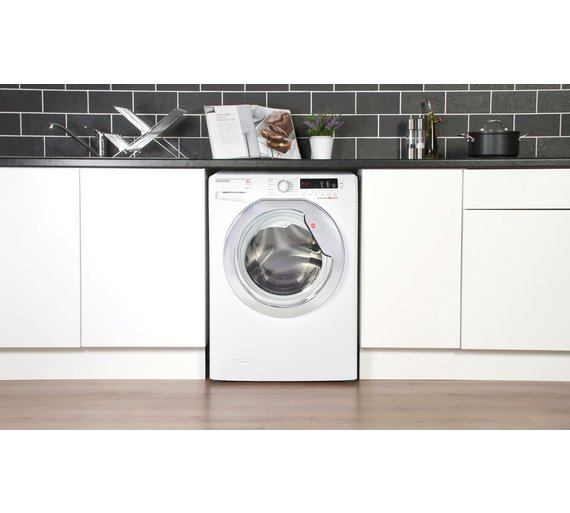 buy hoover dxcc49w3 9kg 1400 washing machine white at. Black Bedroom Furniture Sets. Home Design Ideas