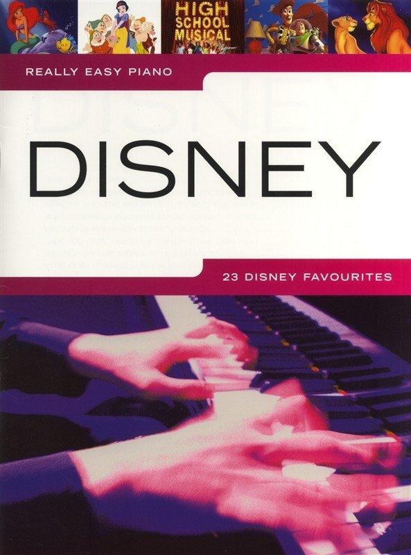Hal Leonard Europe Really Easy Piano - Disney