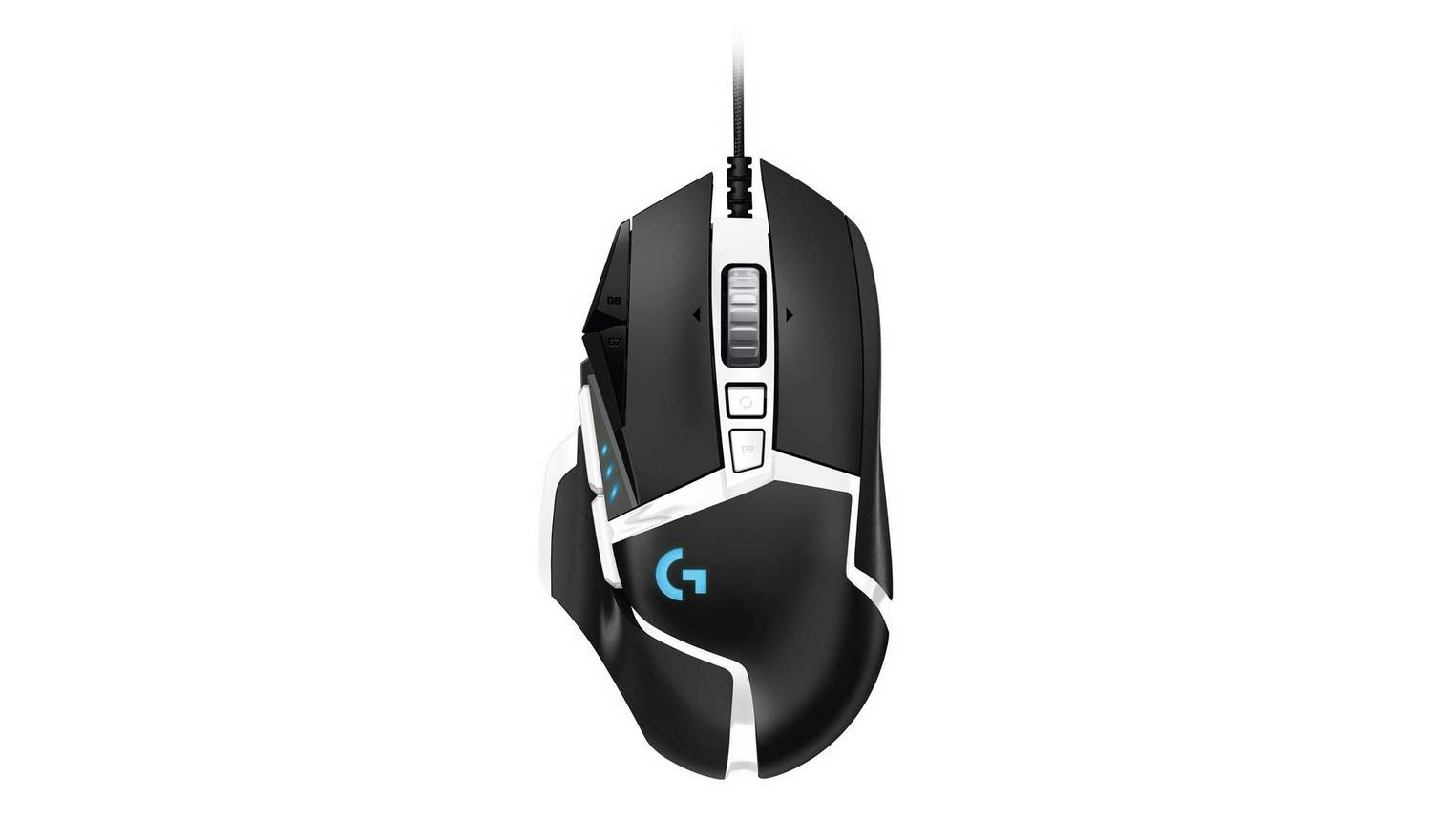 Logitech G502 Special Edition Hero Mouse - Multicoloured