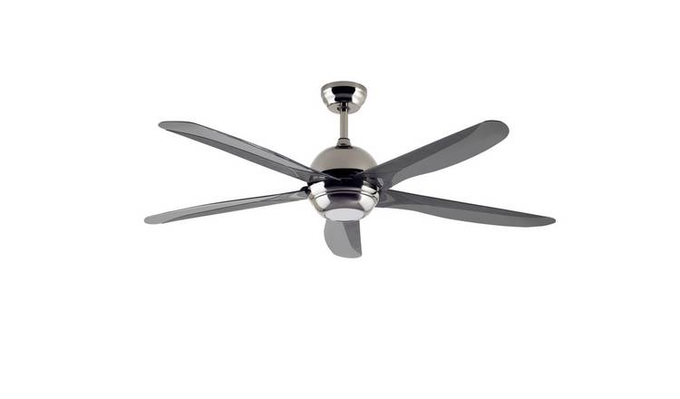 Argos Home Modern Remote Control Ceiling Fan - Black