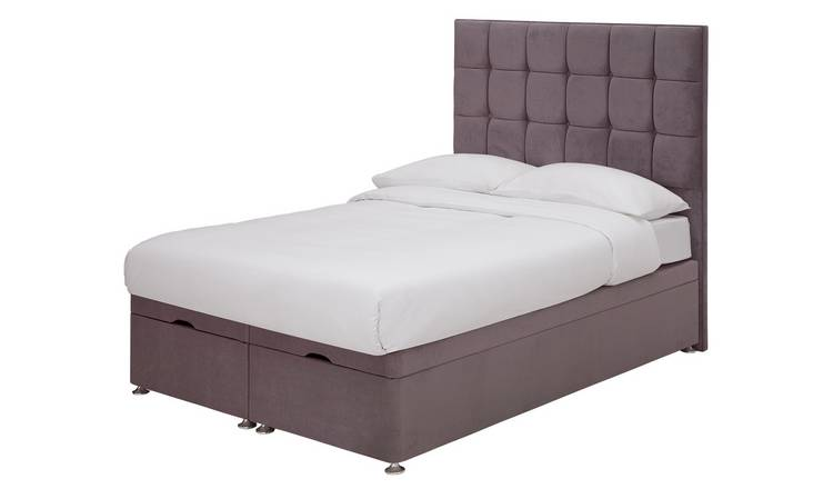 Forty Winks 1500 Pocket Gel Ottoman Kingsize Divan - Mauve