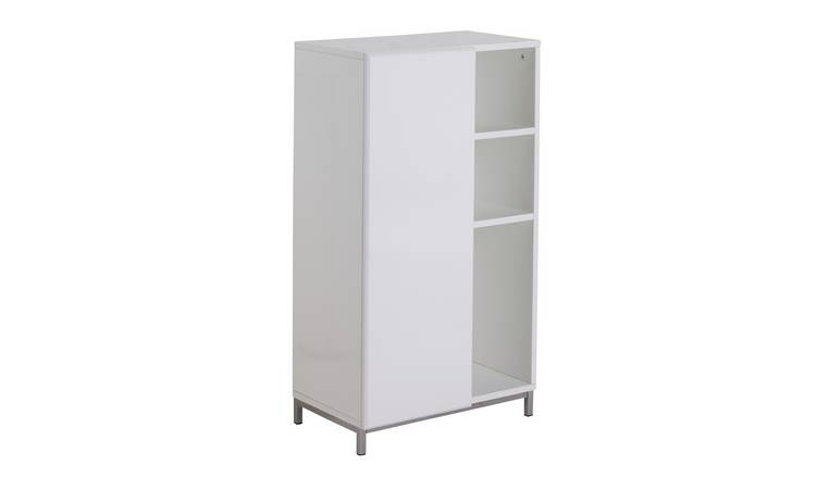 Argos Home Gloss Double Unit - White
