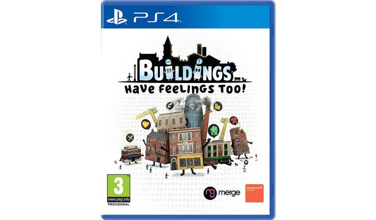 Buildings Have Feelings Too PS4 Pre-Order Game