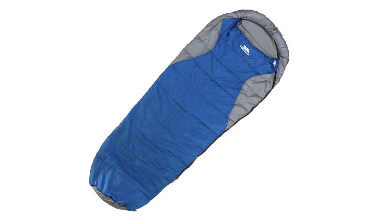 Trespass 300GSM Extra Wide Mummy Cowl Sleeping Bag