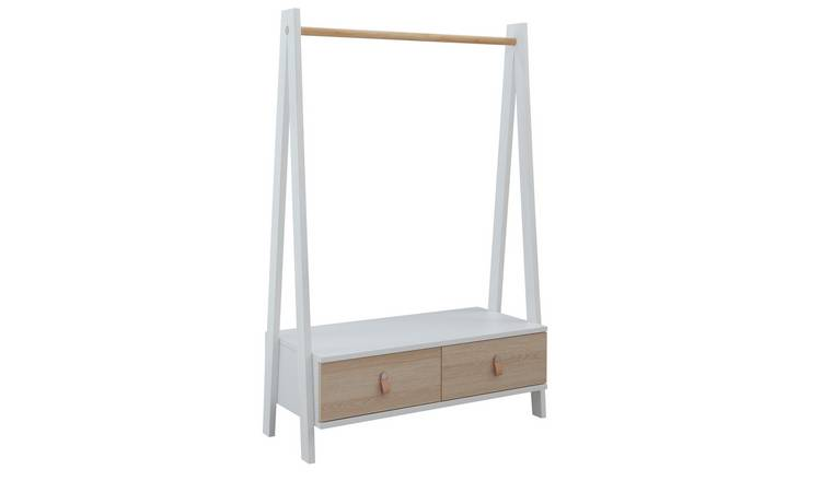 Argos Home Copenhagen Clothes Rail - Two Tone