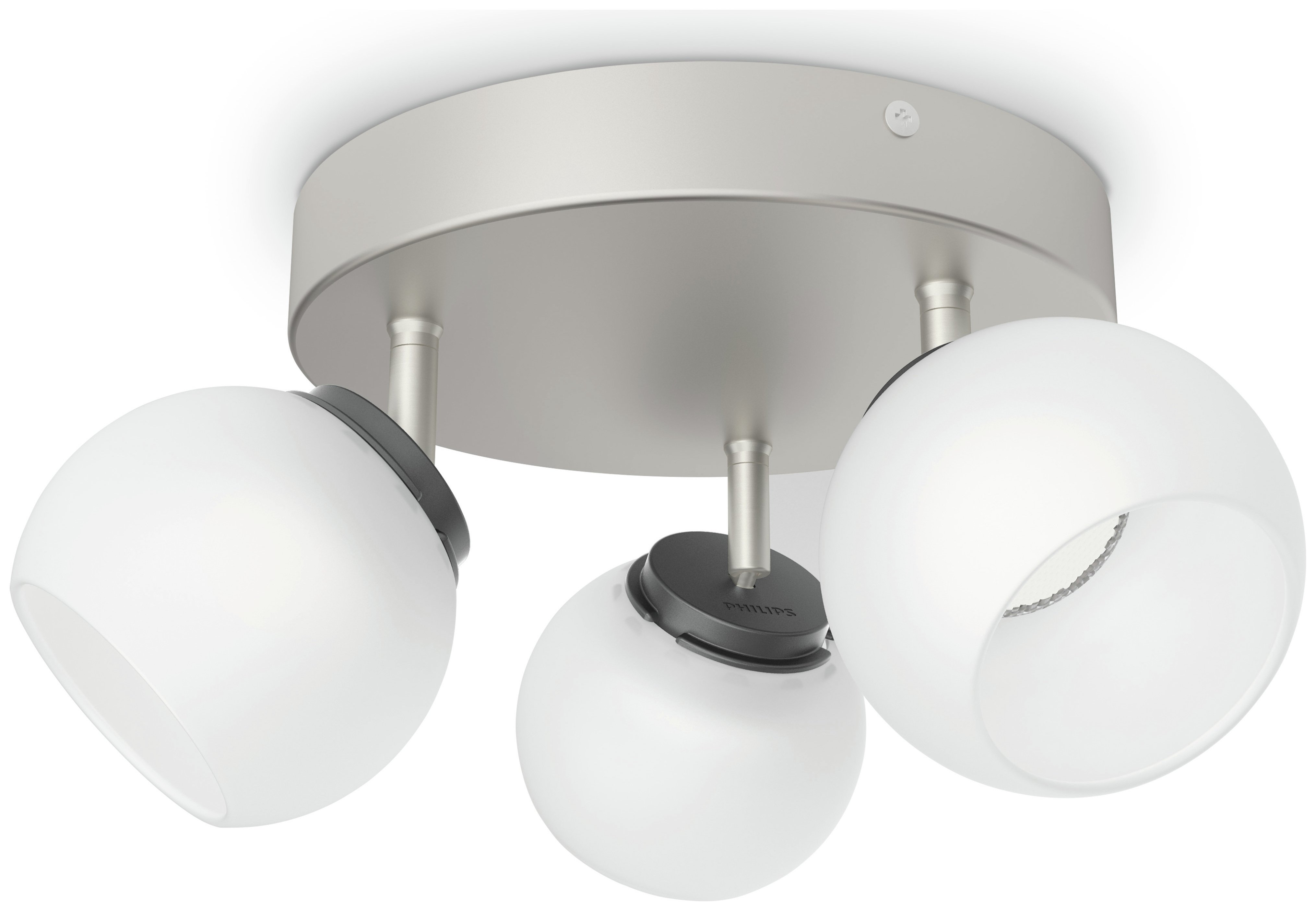 Sale On Philips Balla 3 X 4w Spiral Light Nickel Philips Myliving Now Available Our Best Pri