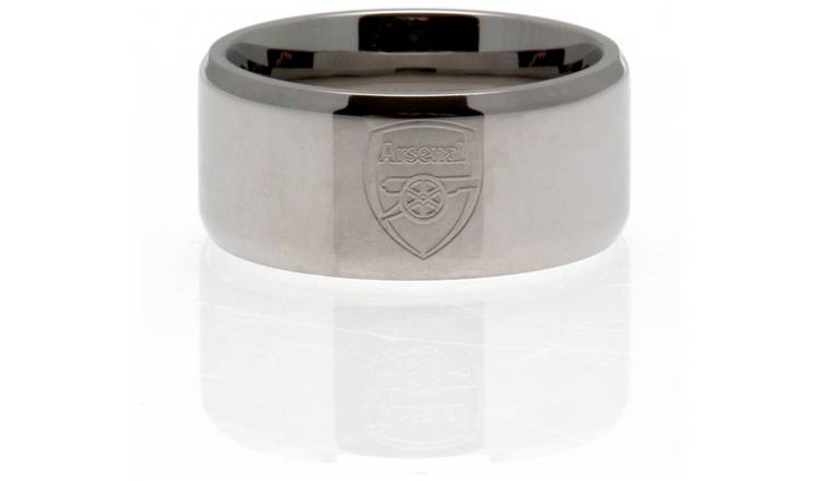 Stainless Steel Arsenal Ring - Size X