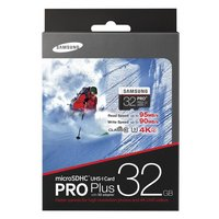 Samsung - 32GB Pro Plus - SD Flash - Card Adaptor