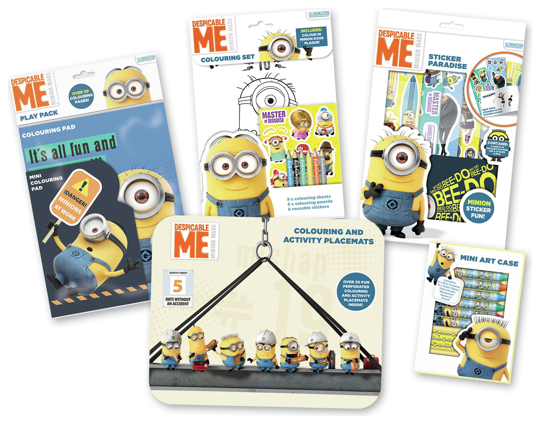 Image of Despicable Me - Colouring Set