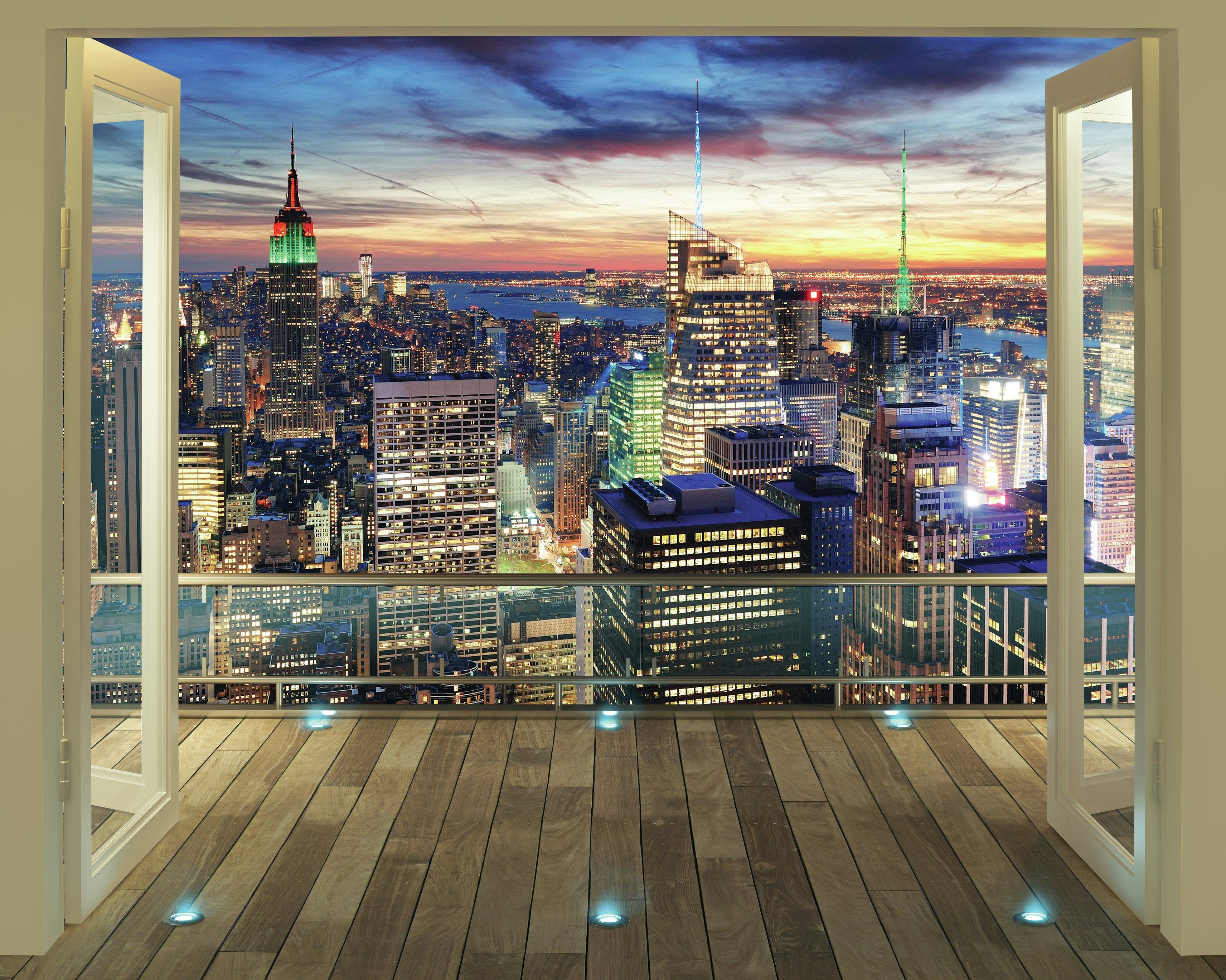 Buy Walltastic New York City Skyline Wallpaper Mural at Argosco