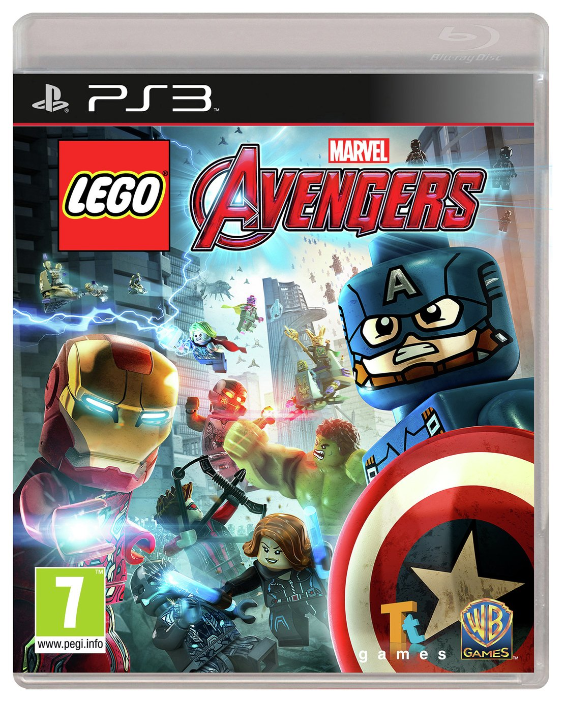 Image of LEGO - Avengers Game - PS3 Game