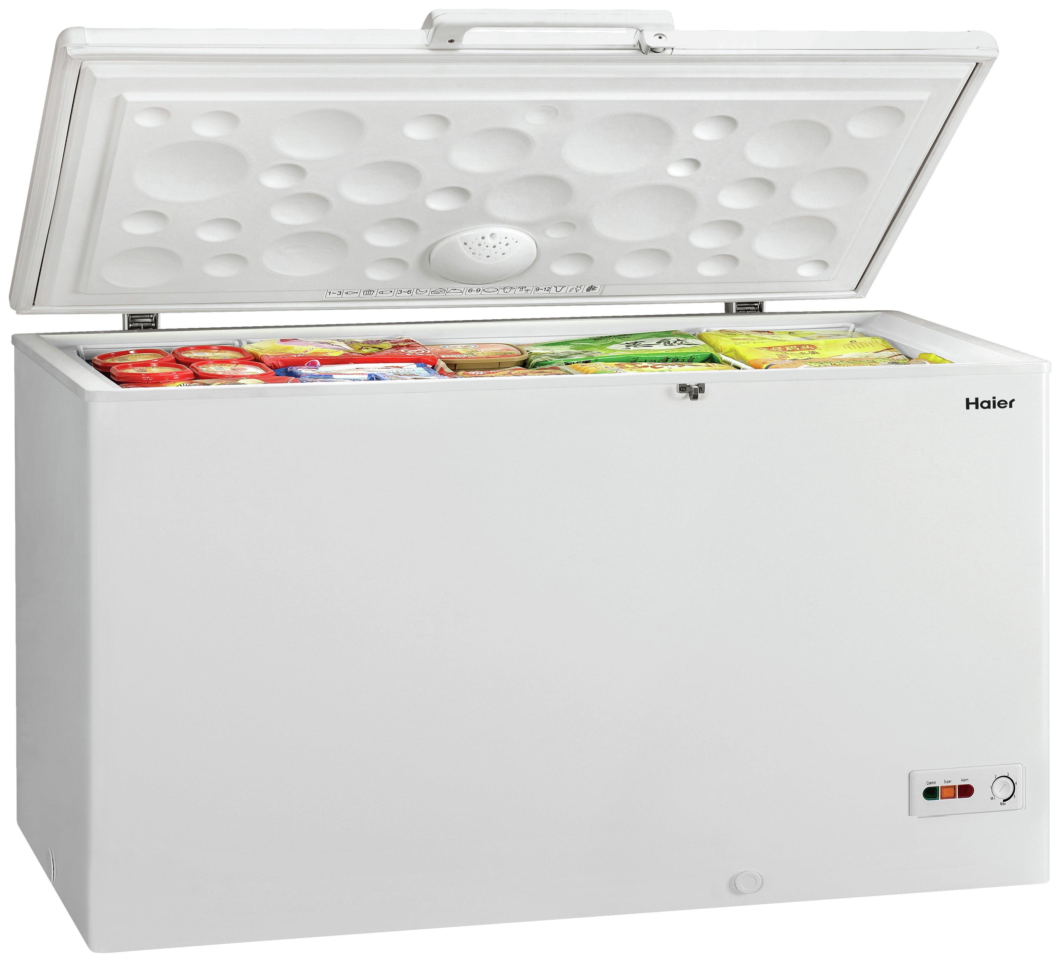 Image of Haier BD-429RAA Chest Freezer - White.