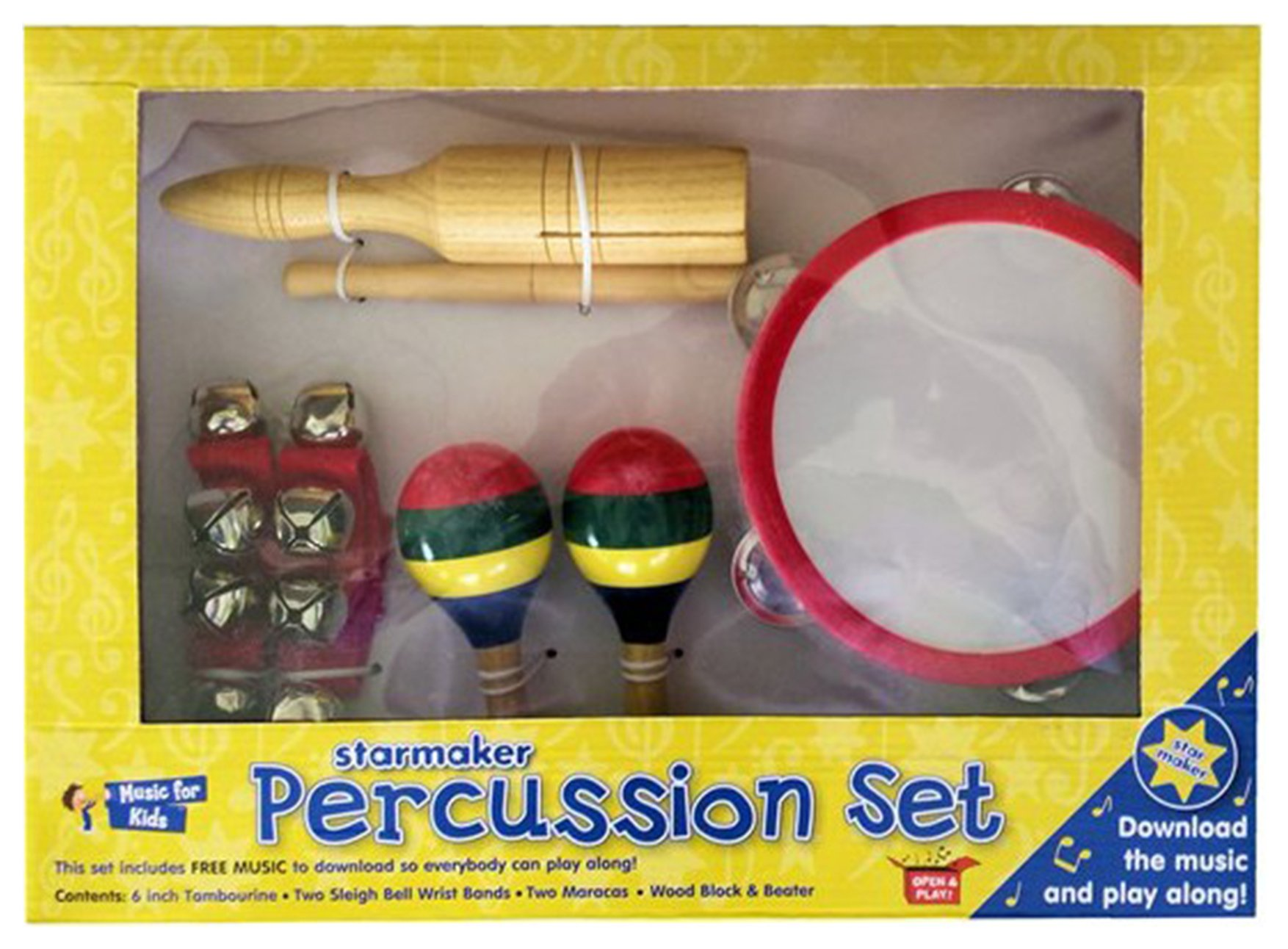 Image of Starmaker Percussion Set