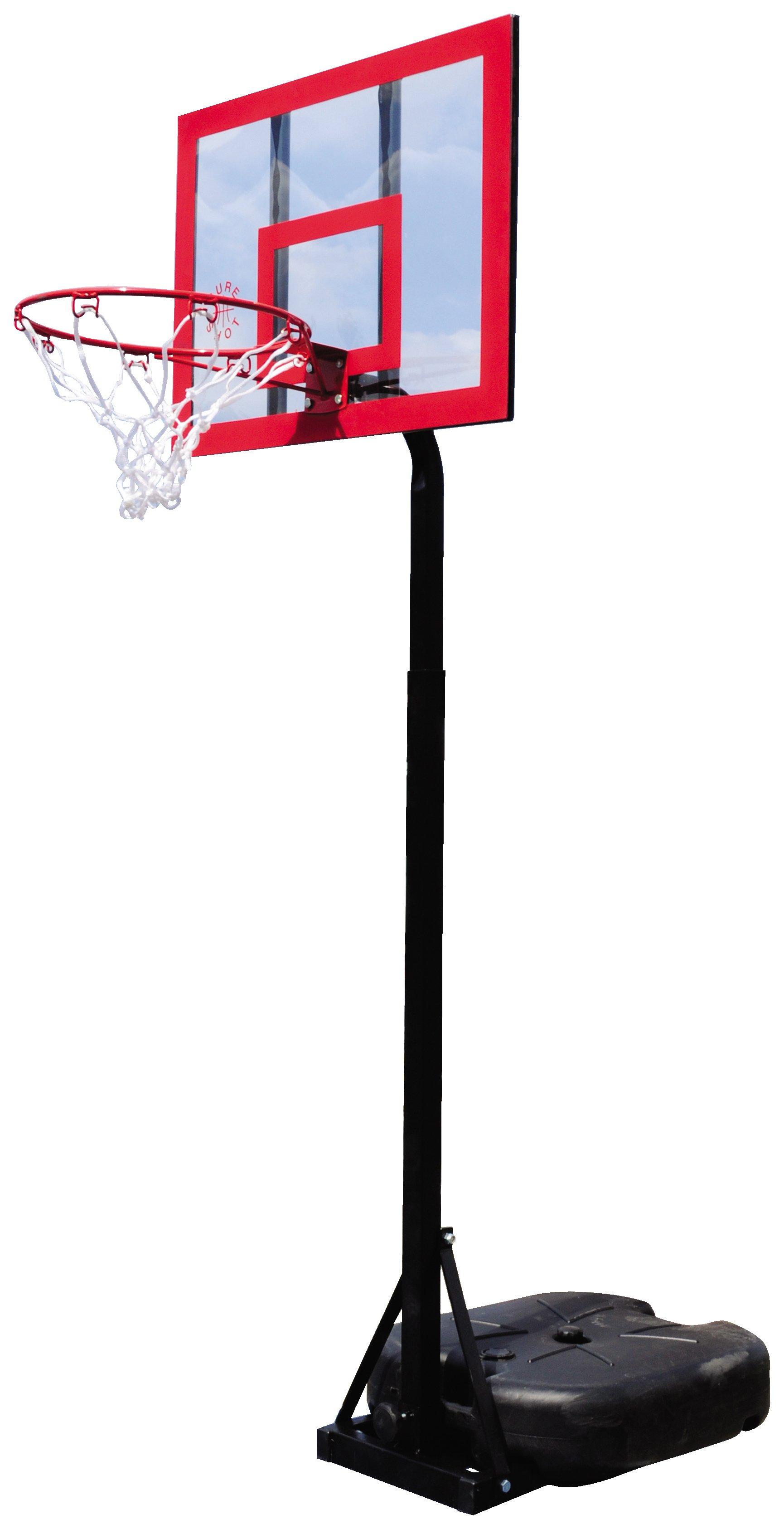Sure Shot Little Shot Basketball Unit with Acrylic Backboard