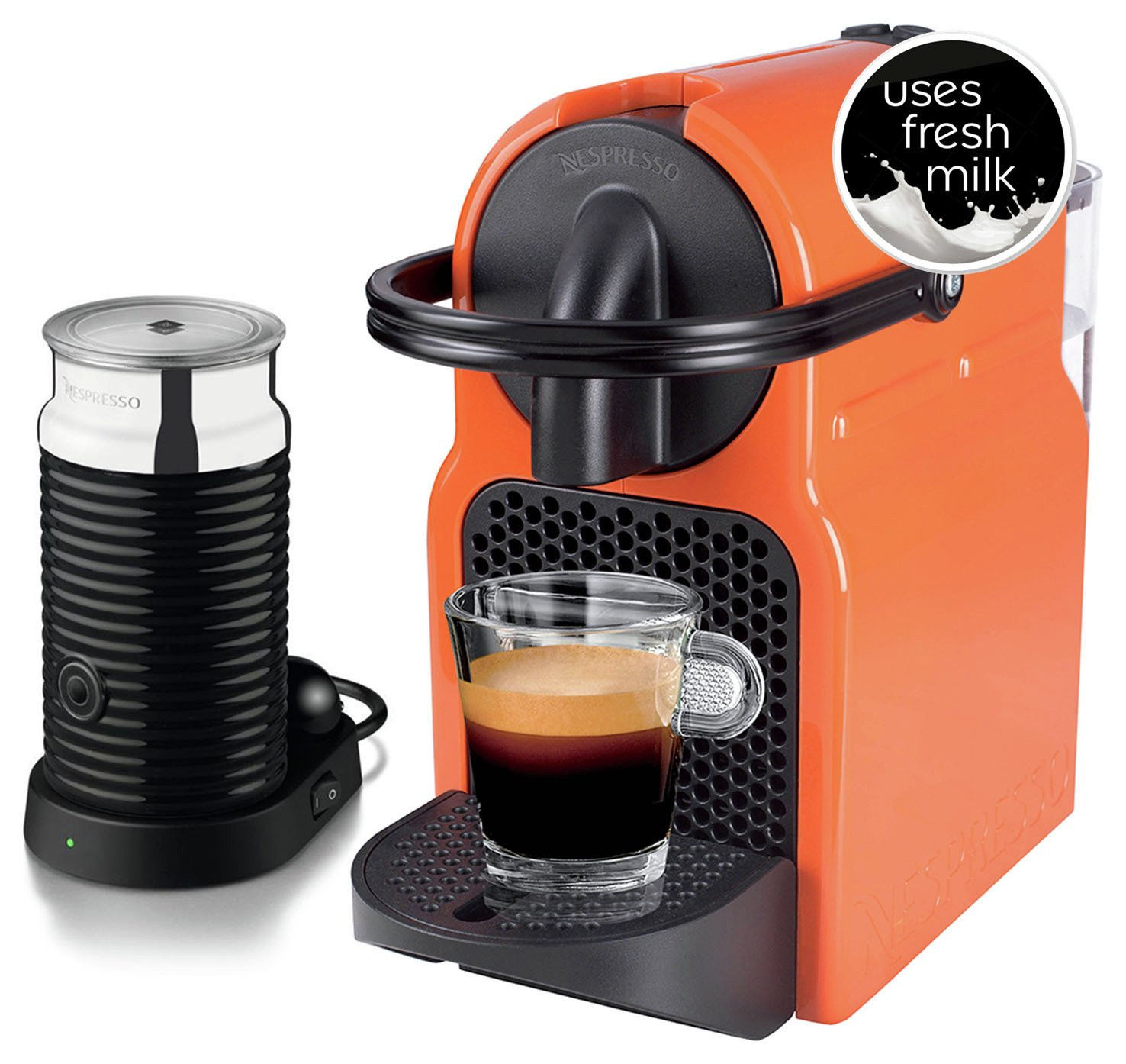 how to clean nespresso inissia