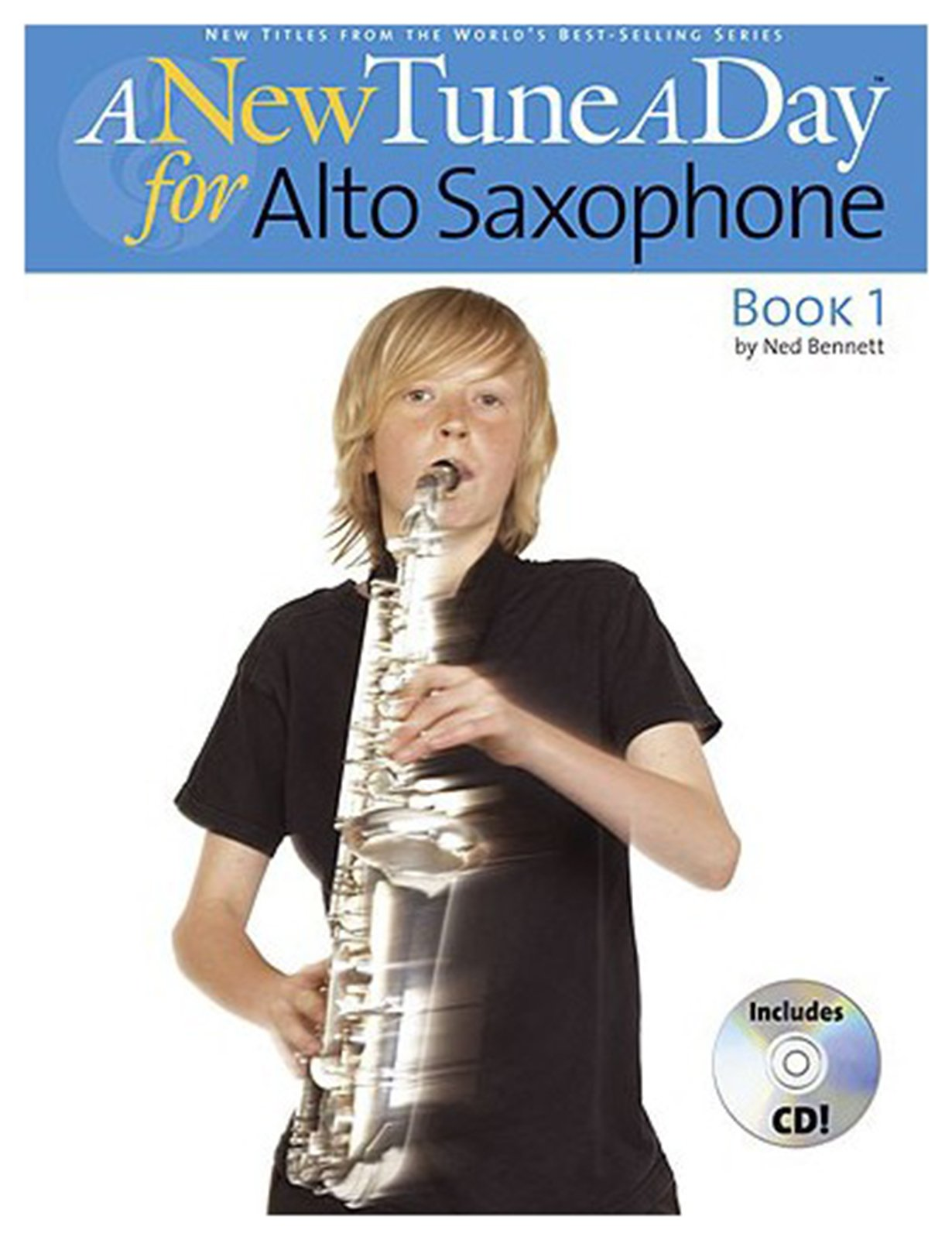 Image of Boston Music - A New Tune a Day for Alto Saxophone Book