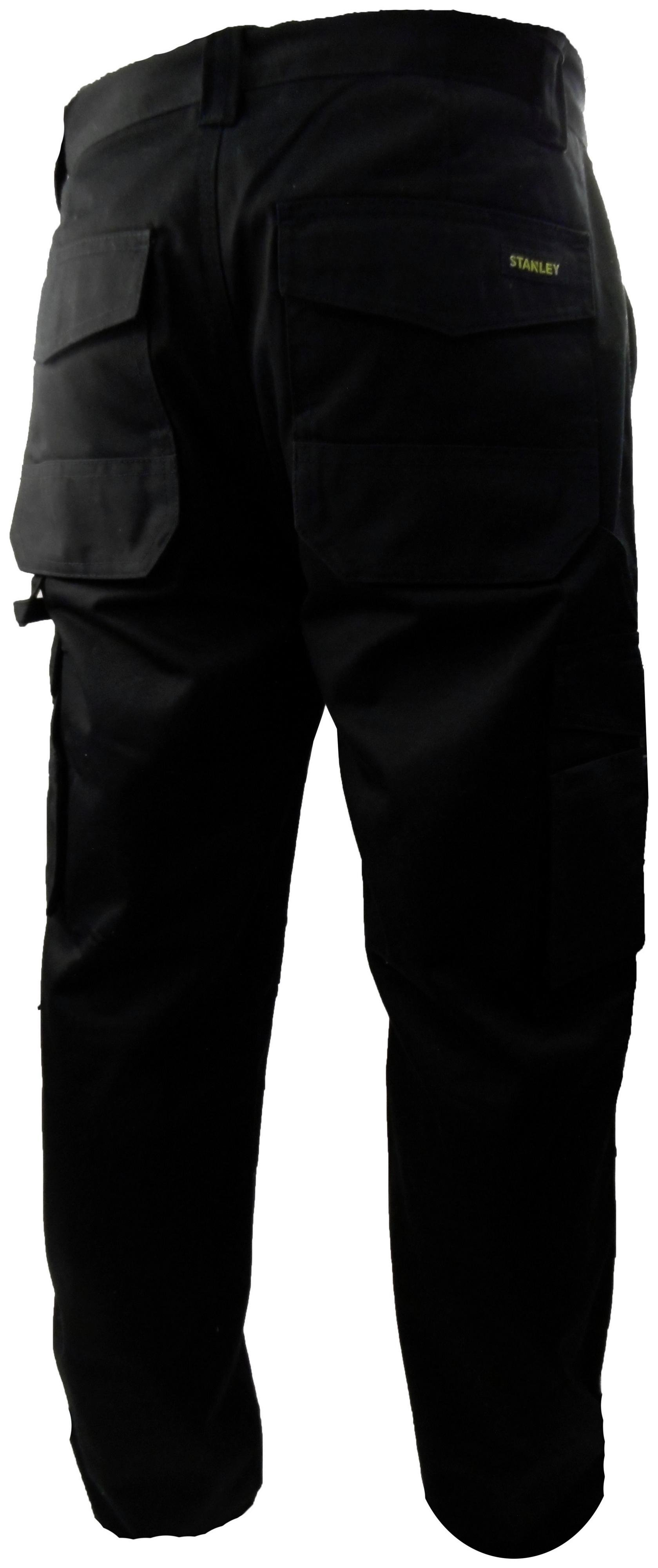 Image of Stanley - Phoenix - Mens - Black Trouser - 31 to 40 inch