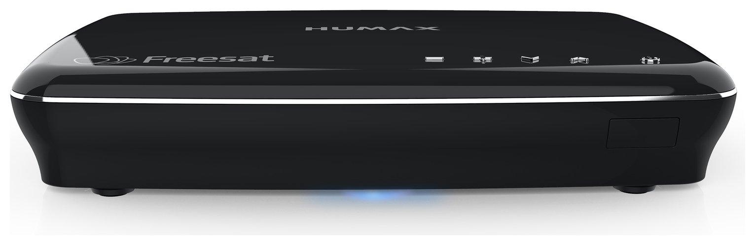 Humax - HDR-1100S 1TB Freesat HD Digital TV Recorder - Black