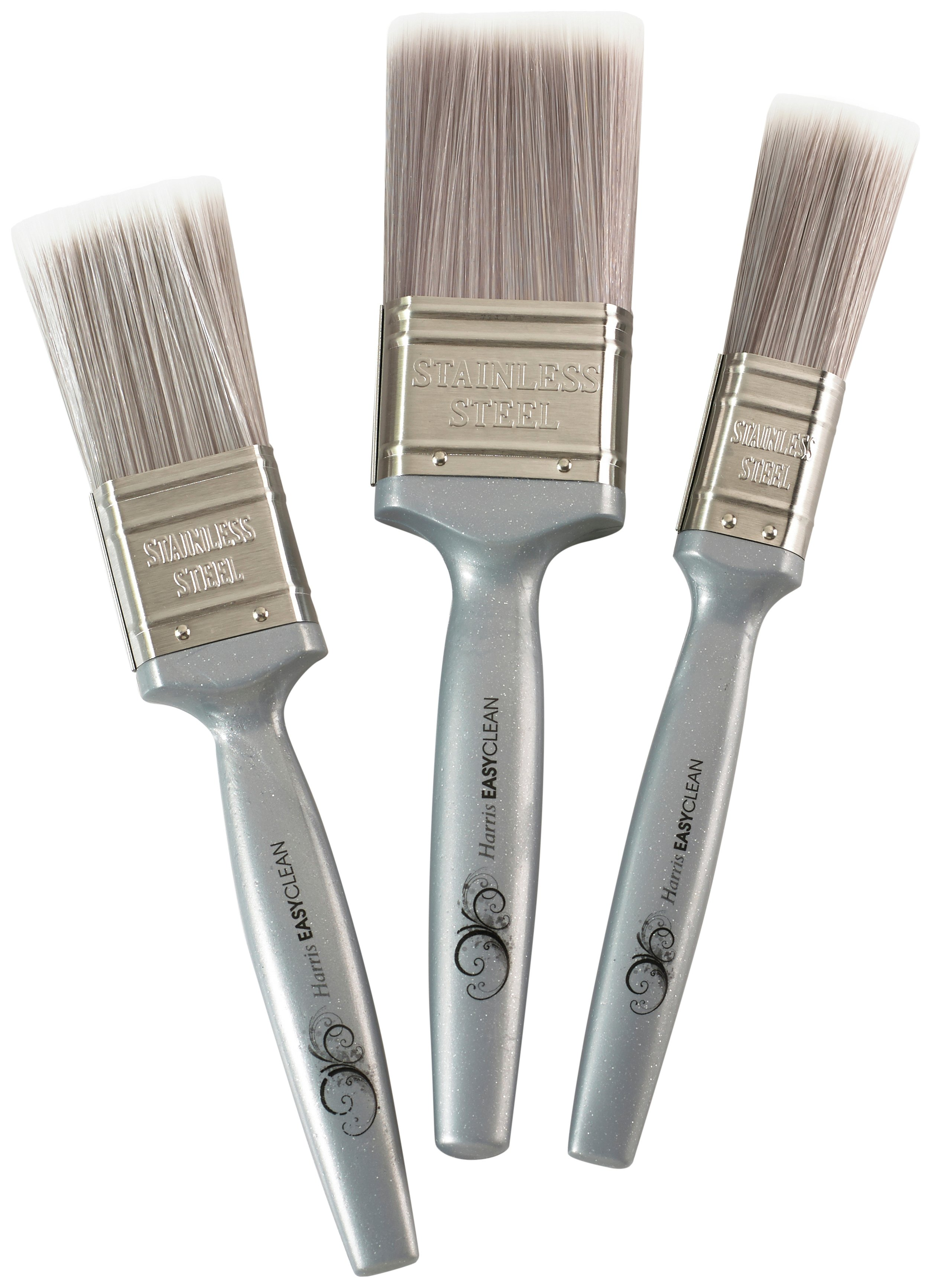 Harris Easy Clean Paint Brushes Set Of