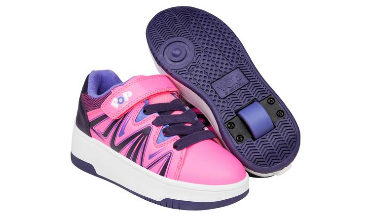 Heelys Pop Burst Pink & Purple UK 11
