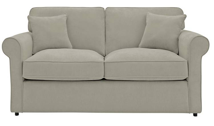 Argos Home William 2 Seater Fabric Sofa Bed - Grey
