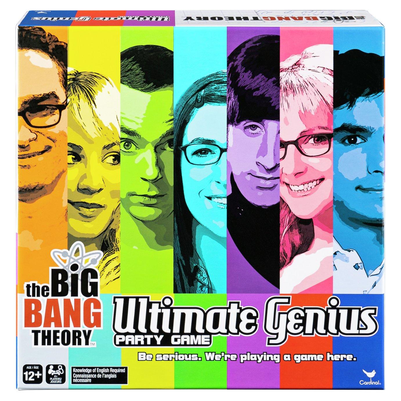 Spinmaster Games Big Bang Theory Ultimate Genius Party Game