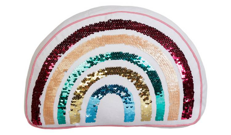 Argos Home Rainbow Cushion