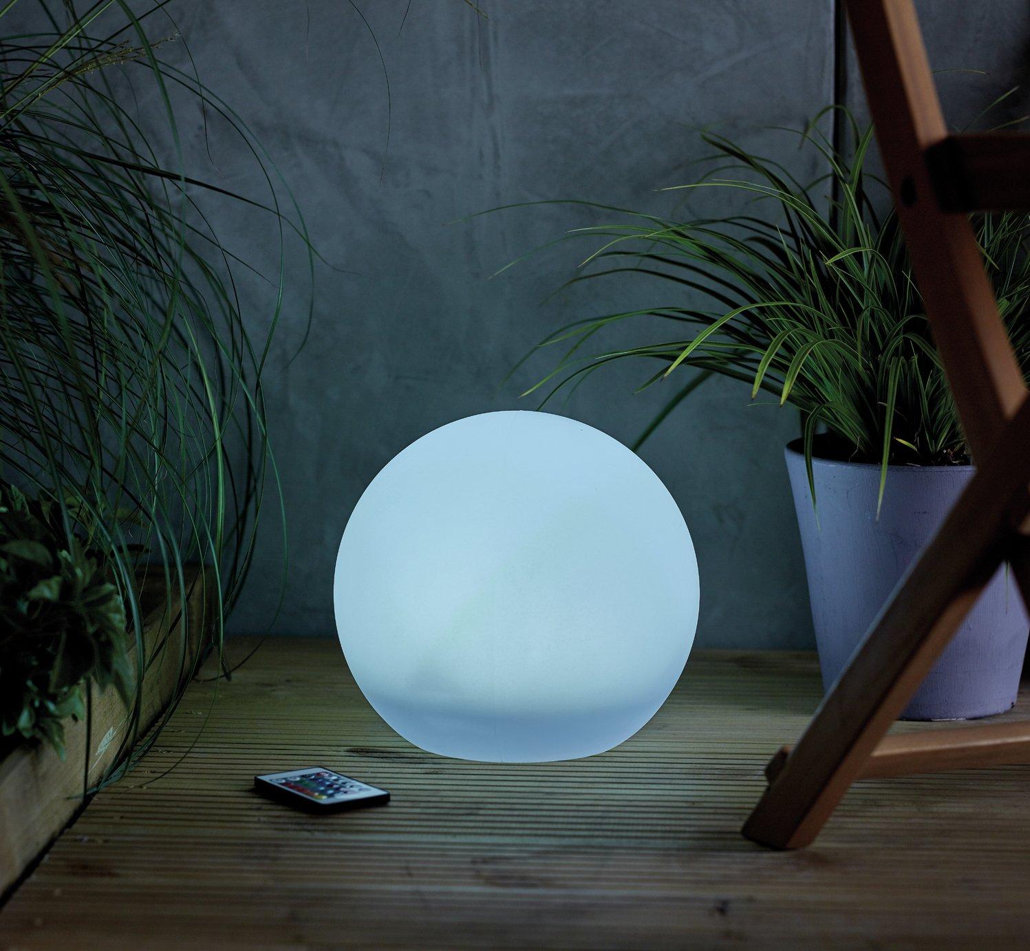 Habitat Solar USB Mood Light with Remote Control
