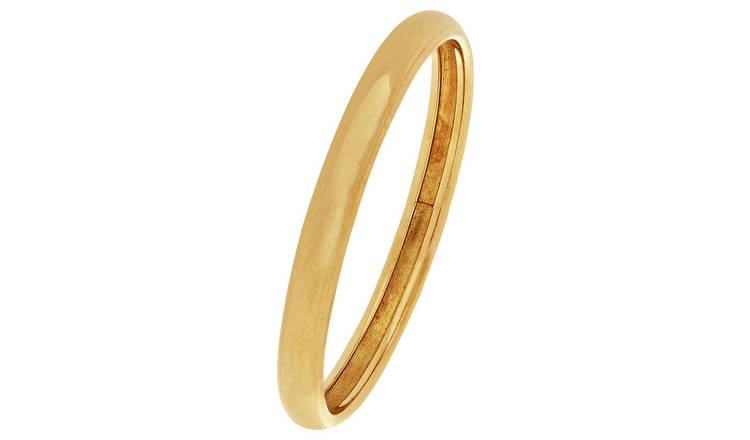 Revere 9ct Gold Rolled Edge Wedding Ring - 2mm - S