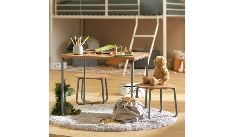 Argos Home Industrial Kids Play Table