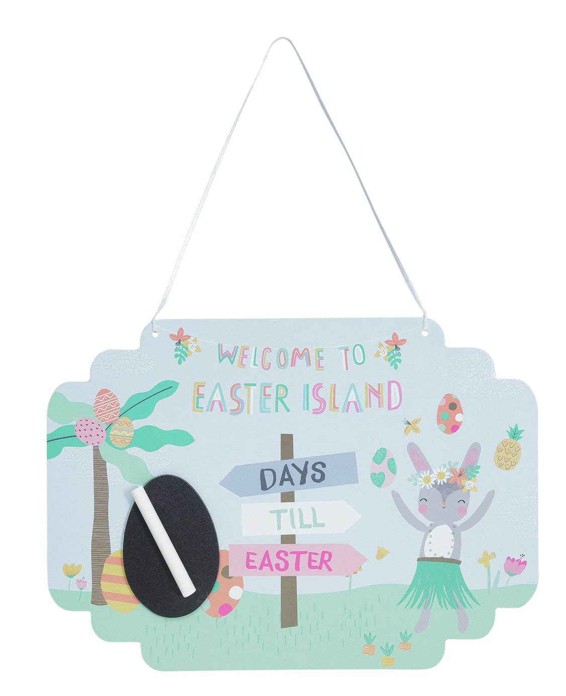 Easter Count Down Sign