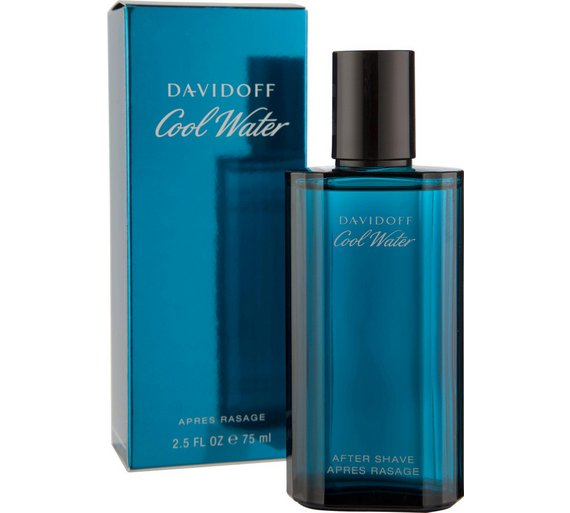 buy davidoff cool water aftershave for men 75ml at argos. Black Bedroom Furniture Sets. Home Design Ideas