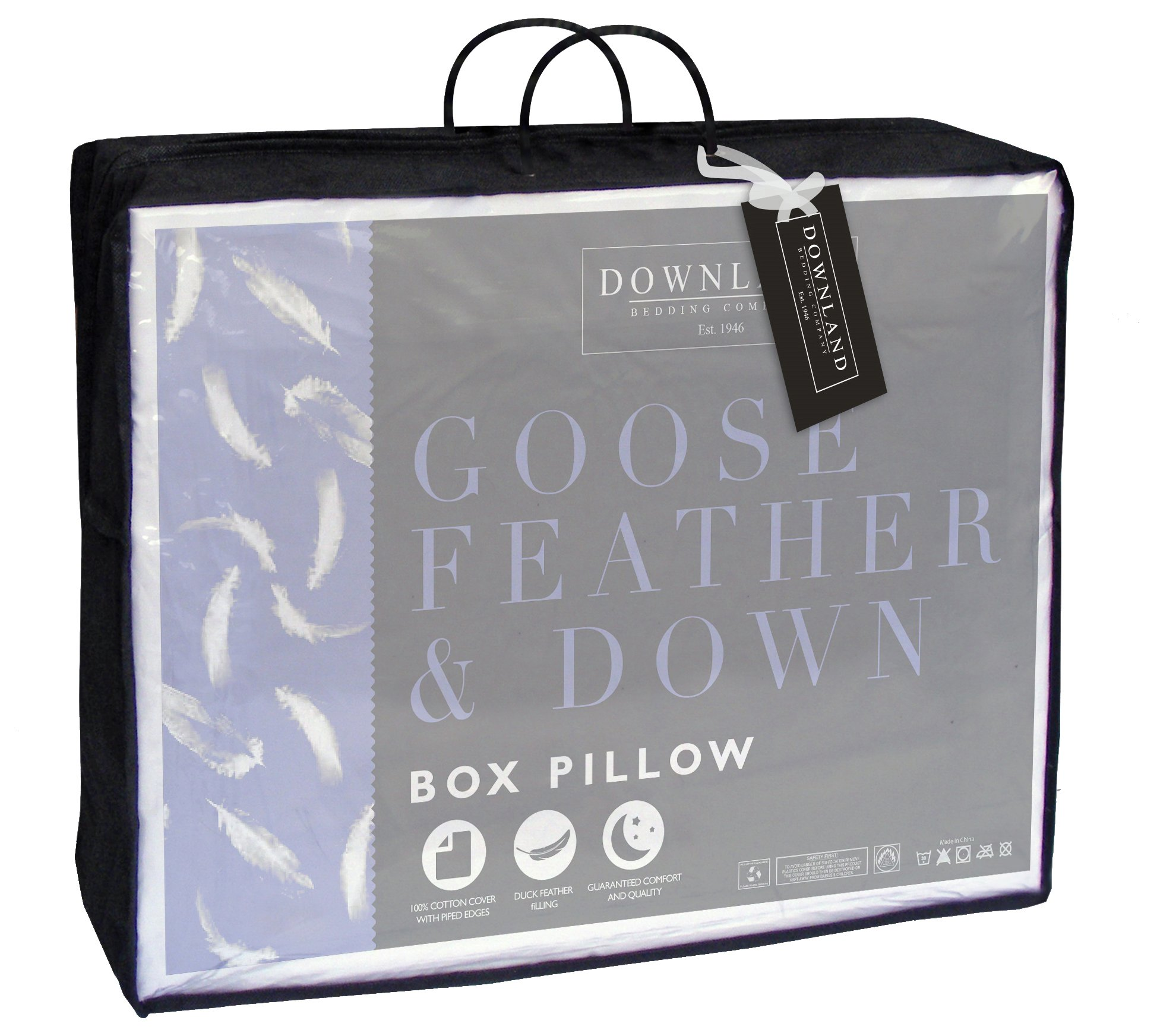 downland  feather down box pillow