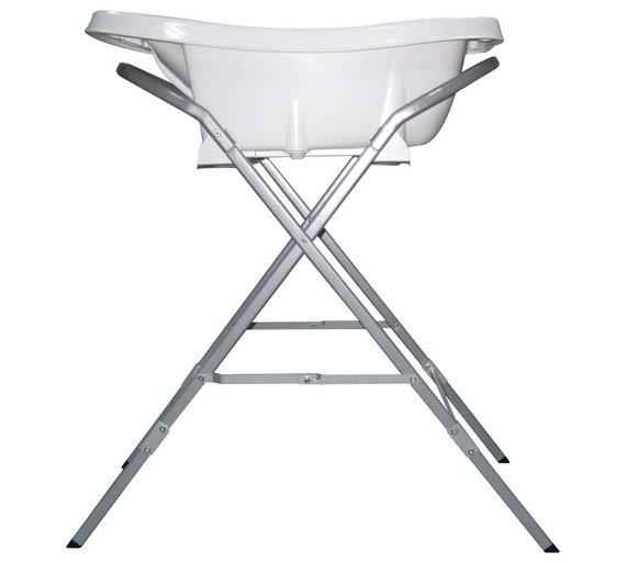 Buy Aqua Scale™ Bath Stand Silver | Baby bath accessories | Argos