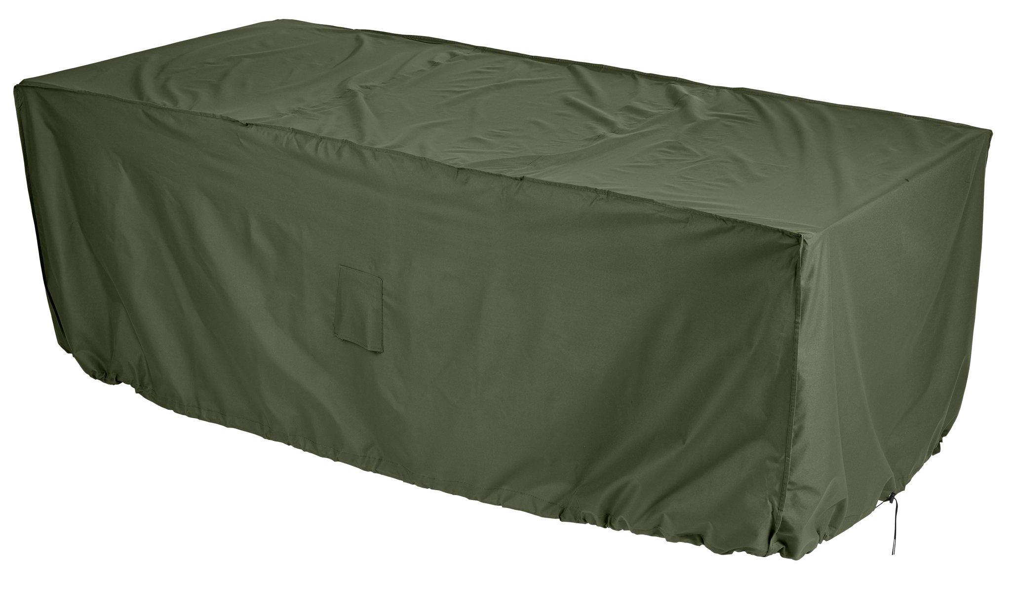 Gardman - Rectangular - 4 to - 6 Seater Patio Set Cover - Green lowest price