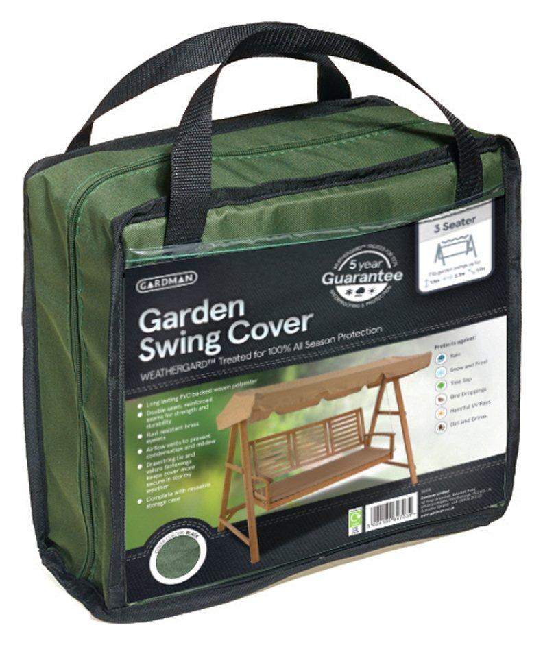 Gardman - 3 Seater Hammock Cover - Green lowest price