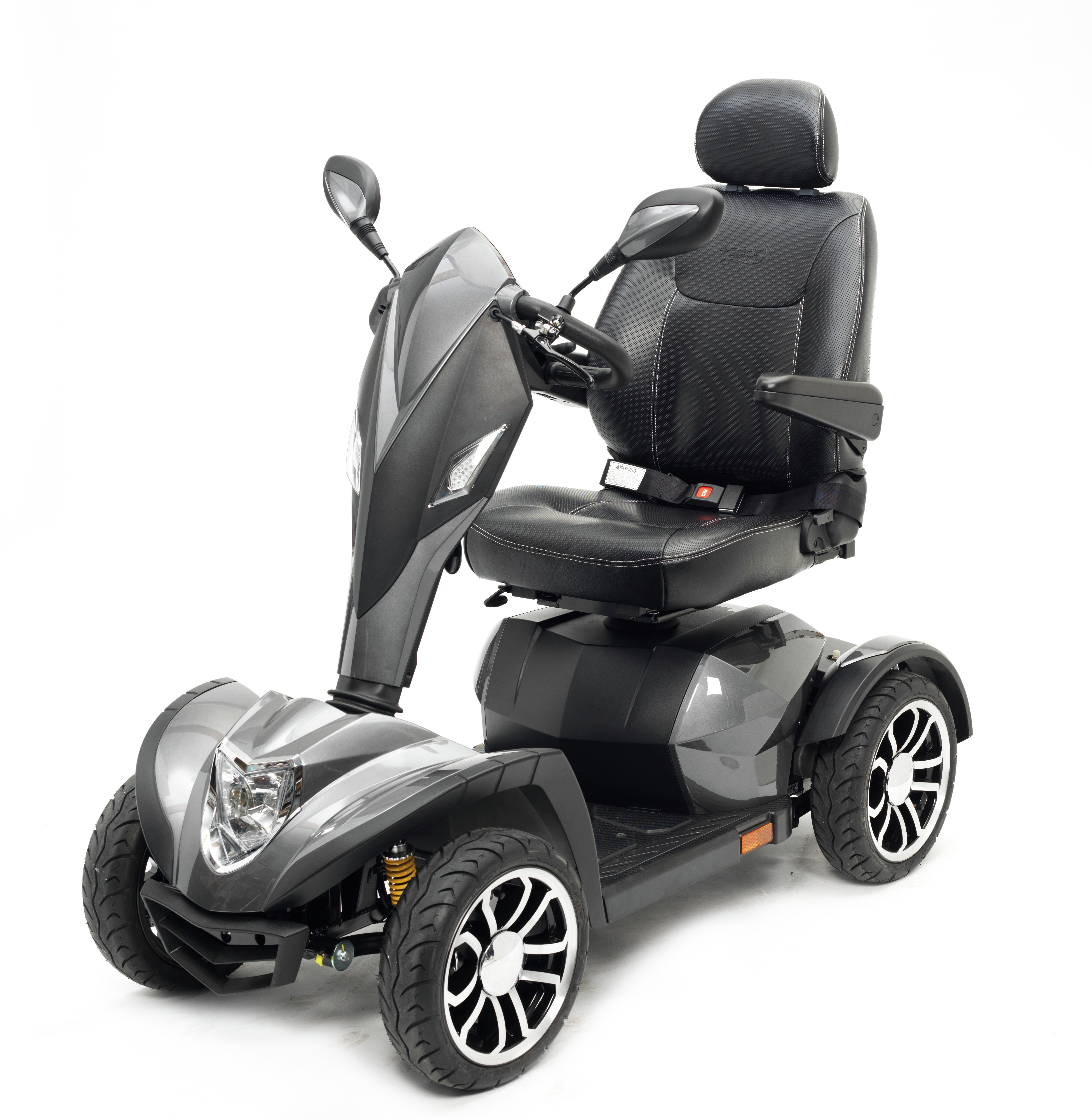 Drive DeVilbiss Healthcare Cobra Mobility Scooter Class 3 - Silver.
