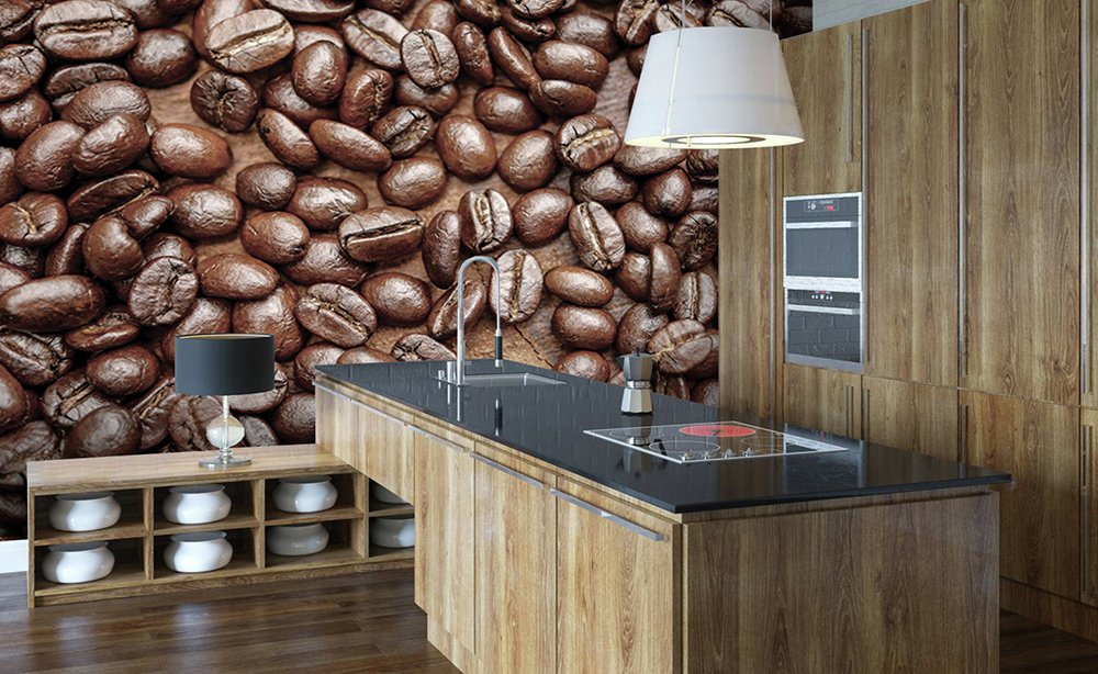 Image of 1Wall - Coffee Bean - Wall Mural