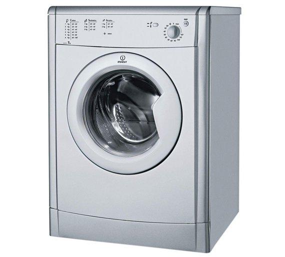 Buy Indesit IDV75S 7KG Vented Tumble Dryer - Silver | Tumble dryers ...