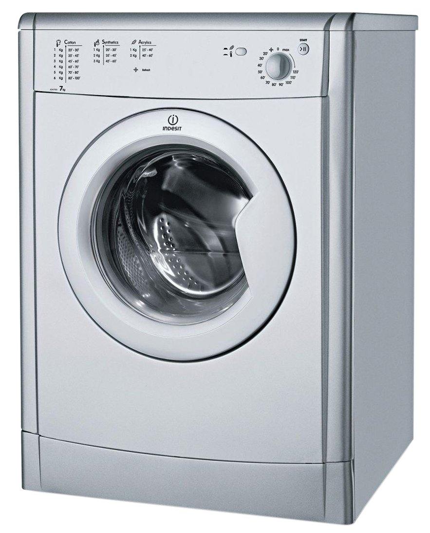 Buy Indesit Idv75s 7kg Vented Tumble Dryer Silver Tumble Dryers