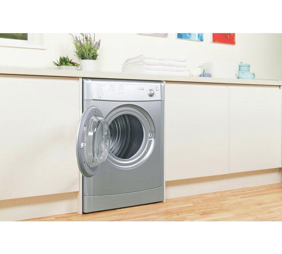 Buy Indesit IDV75S 7KG Vented Tumble Dryer - Silver at Argos.co.uk ...