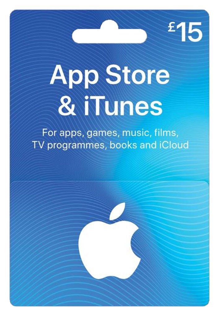 '£15 App Store And Itunes Gift Card