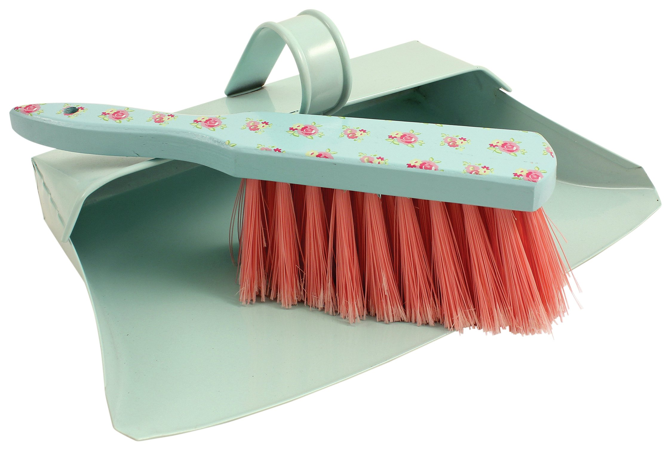 Image of Bentley Gypsy Rose Set of 2 Heavy Duty Dustpan and Brush Set