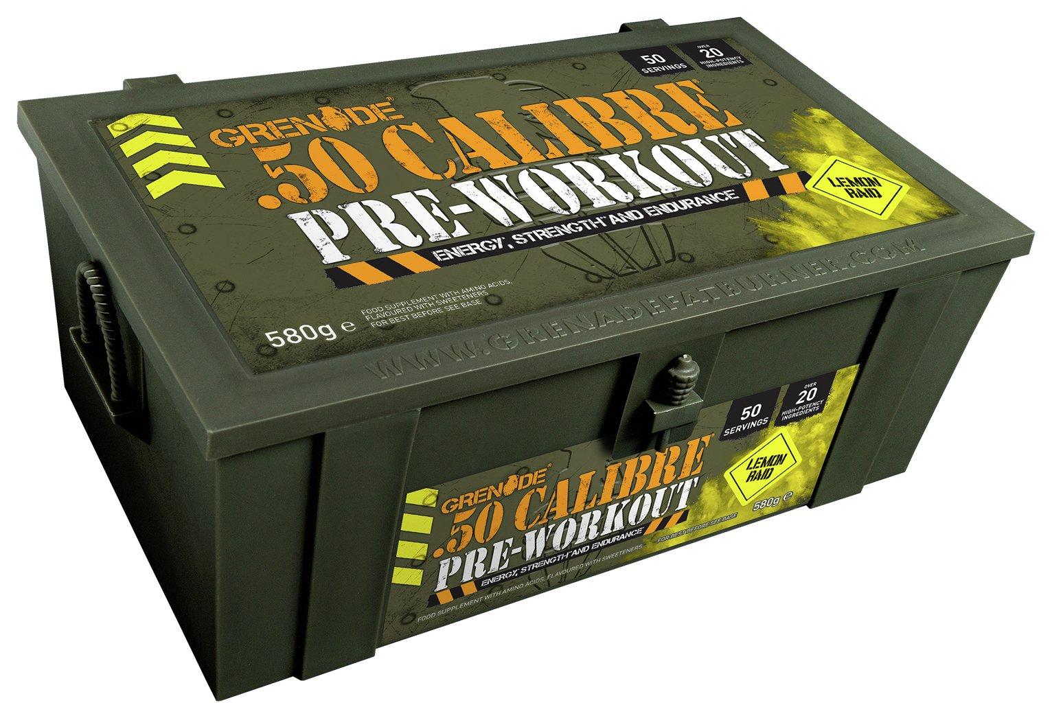 Image of Grenade - 50 Calibre 580g Ammo Box - Lemon Raid