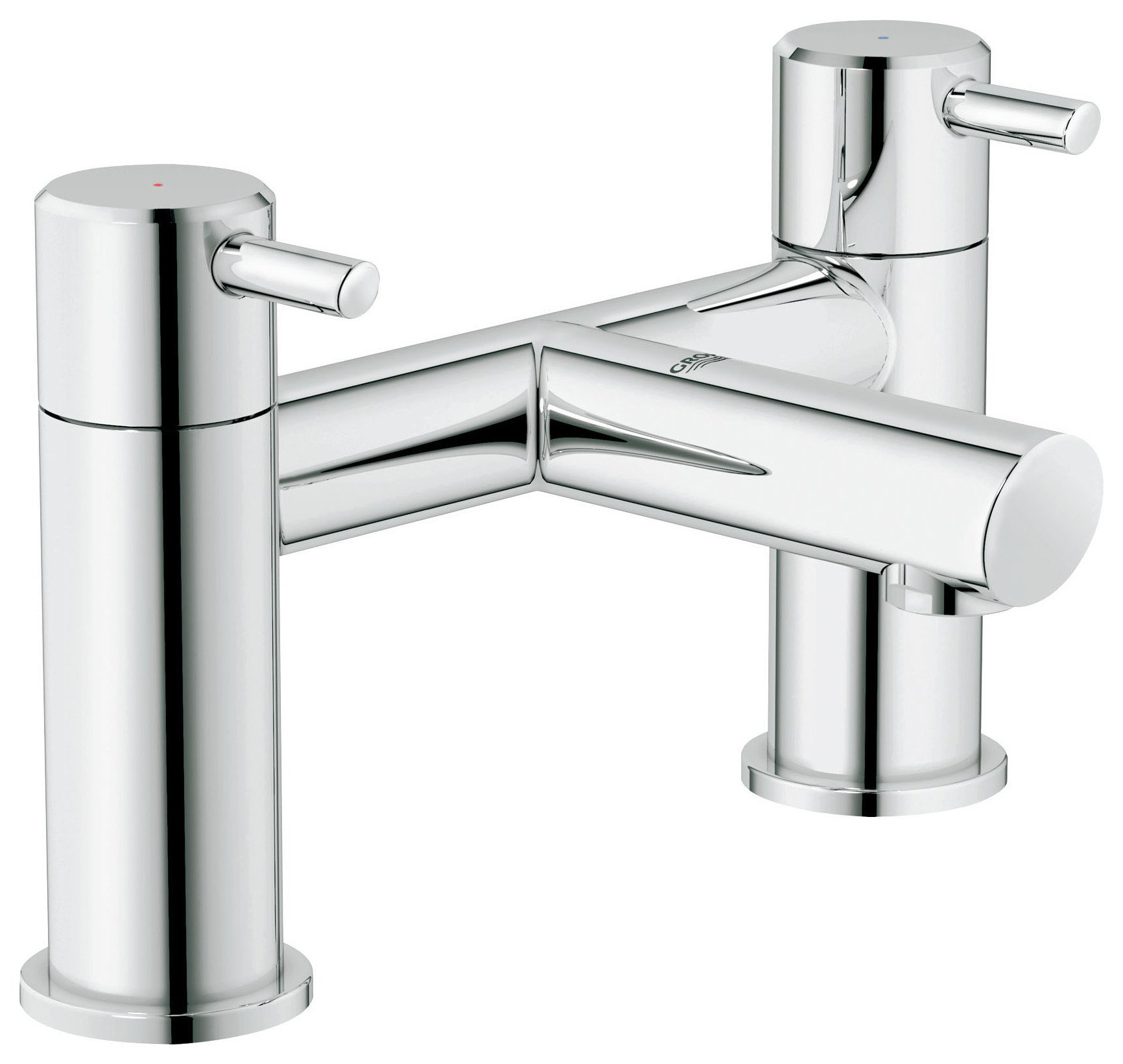 Grohe Feel Deckmounted Bath Filler Tap.