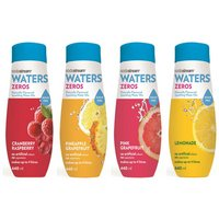 SodaStream - Sodamix - 4 Pack Zeros Mixed Flavours