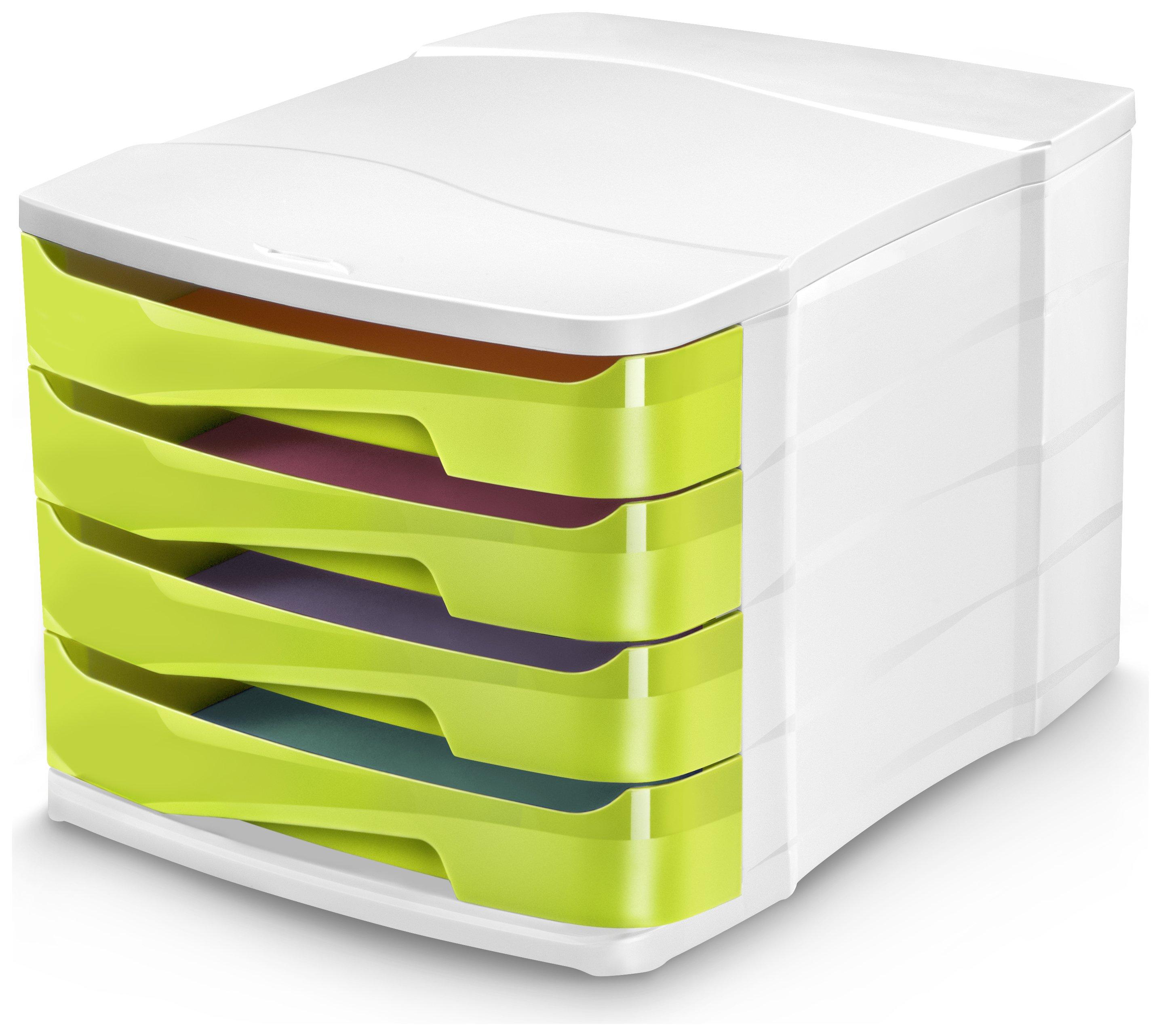 Image of CEP Green Desktop Storage - Set of 4