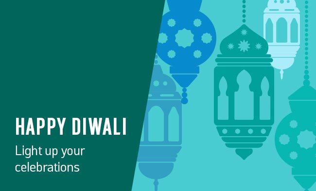 Happy Diwali! Light up your celebrations.